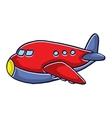 Design for kids planes cartoon vector image
