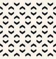 geometric seamless pattern with curved arch vector image vector image