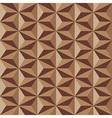 Geometrical pattern in brown vector image