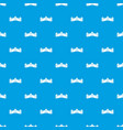 great wall of china pattern seamless blue vector image vector image