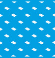 metal tile pattern seamless blue vector image vector image