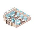 dairy food factory automation industrial milk vector image vector image