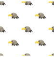 eagle head triangle pattern backgrounds vector image
