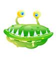 green bacteria vector image