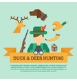 Hunting Concept vector image vector image