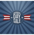 Independence Day Sale vintage Badge vector image vector image