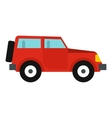 Jeep icon flat style vector image vector image