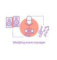 rest time concept icon vector image vector image