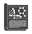 scientific journal icon vector image vector image