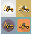 transport flat icons 34 vector image vector image