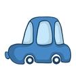 Blue car for kids design