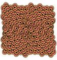 abstract colored circles vector image