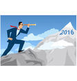 Business forecasting vector image