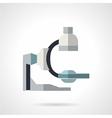 Diagnostic equipment flat icon vector image