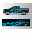 offroad vehicle wrap design pickup truck decal