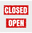 open and closed sign transparent background vector image