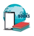 read books online design vector image vector image