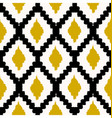 seamless tribal pattern vector image vector image