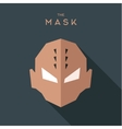 Abstract antihero sinister person with thorns on vector image vector image