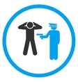 Arrest Flat Icon