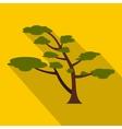 Cedar tree icon flat style vector image vector image