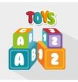 cute toys design vector image vector image