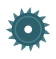 disc saw blade metal industry tool circular vector image