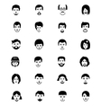 Faces Icons 3 vector image