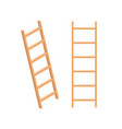 isometric ladder stair staircase isolated vector image