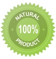 Label - 100 natural product vector | Price: 1 Credit (USD $1)