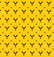 modern yellow graphic background i vector image