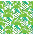 nature seamless pattern hand drawn abstract vector image vector image