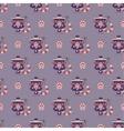 russian tea pot symbol seamless pattern vector image vector image