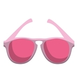 style sunglasses isolated icon vector image vector image
