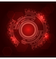 Abstract Technical Background vector image