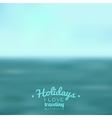 blurred landscape background vector image vector image