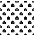 camera pattern seamless vector image