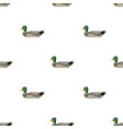 duck triangle pattern backgrounds vector image