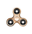 fidget spinner icon isolated on white background vector image vector image