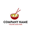 food and beverage logo vector image vector image