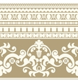 Greek ornament seamless pattern vector image