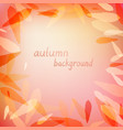 leaves in light purple colors vector image vector image