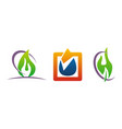 oil water gas solution vector image