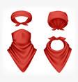 Realistic red buff set