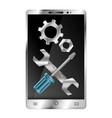 repair gadget symbol vector image