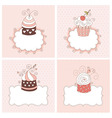 Set of greeting cards vector | Price: 1 Credit (USD $1)