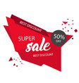 super sale best discount 50 off modern sale banne vector image vector image