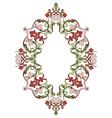 Antique ottoman turkish pattern design thirty six vector image vector image