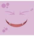 Cartoon Expression face vector image