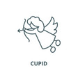 cupid line icon linear concept outline vector image